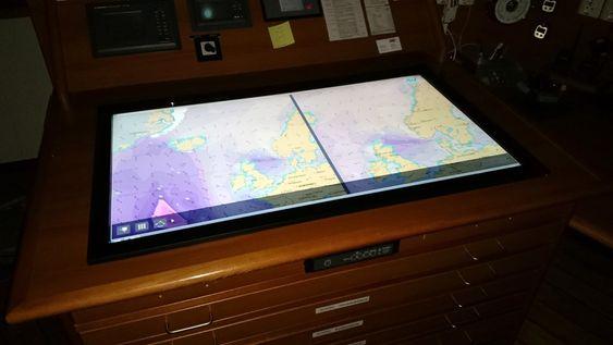 NavStation installert om bord «Island Vanguard», som eies av Island Offshore.