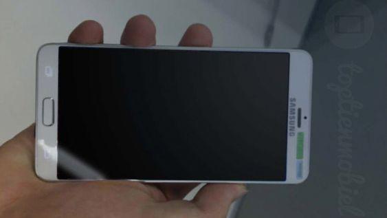 Bildet viser angivelig en lekket prototype av Galaxy S6.