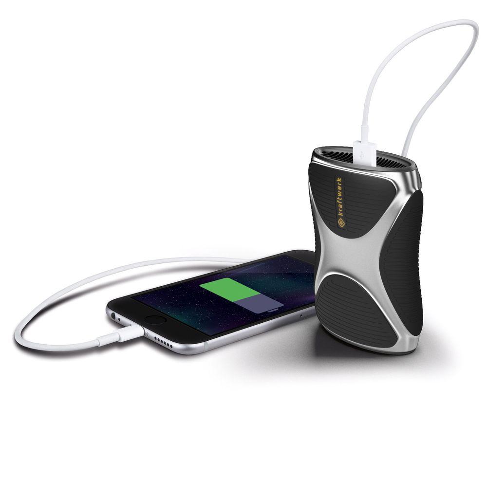 Denne laderen bruker lightergass for å produsere strøm og skal kunne lade opp en typisk Iphone 11 ganger. Den skal etter planen komme på markedet tidlig neste år.