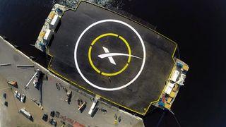SpaceX gjør et nytt forsøk på å lande rakett på droneskip