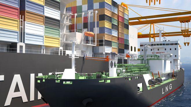 – Dette bidrar til å gjøre gass til det foretrukne drivstoffet for shipping
