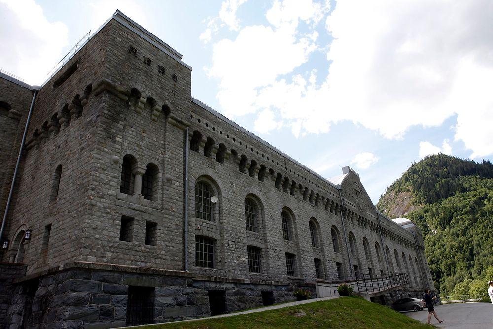 Angrep: Vemork kraftstasjon ved Rjukan hvor Kompani Linge i 1943 gikk til angrep.