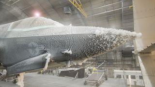 Her får F-35 smake på norske forhold