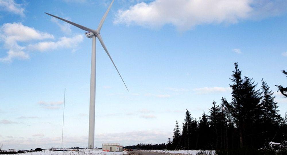Danskenes nasjonale testsenter for store vindturbiner har blitt en turistattraksjon, blant annet på grunn av denne turbinen, V164-8.0MW.