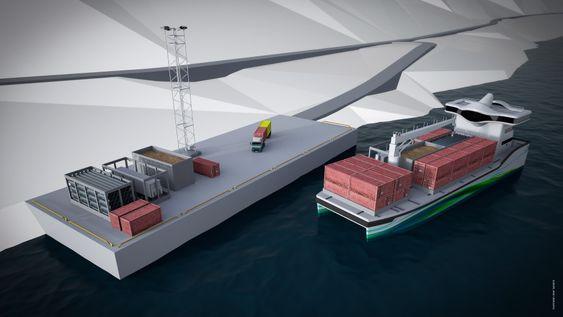 Med Short Sea Pioneeer-konseptet kan selv mindre kaianalegg bli viktige terminaler for å overføre gods til større skip.