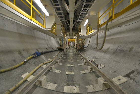 Tunnelboremaskinen Jern-Erna