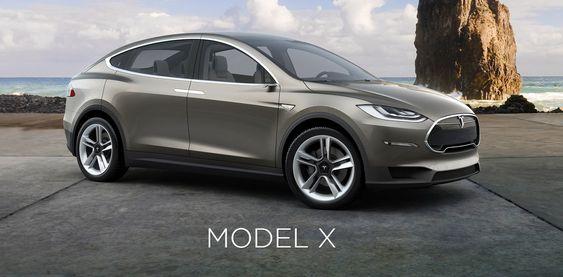 Tesla Motors har ennå ikke vist fram den endelige produksjonsversjonen av Model X.