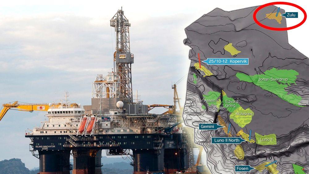 Island Innovator boret for Lundin på Zulu-prospektet og fant gass.
