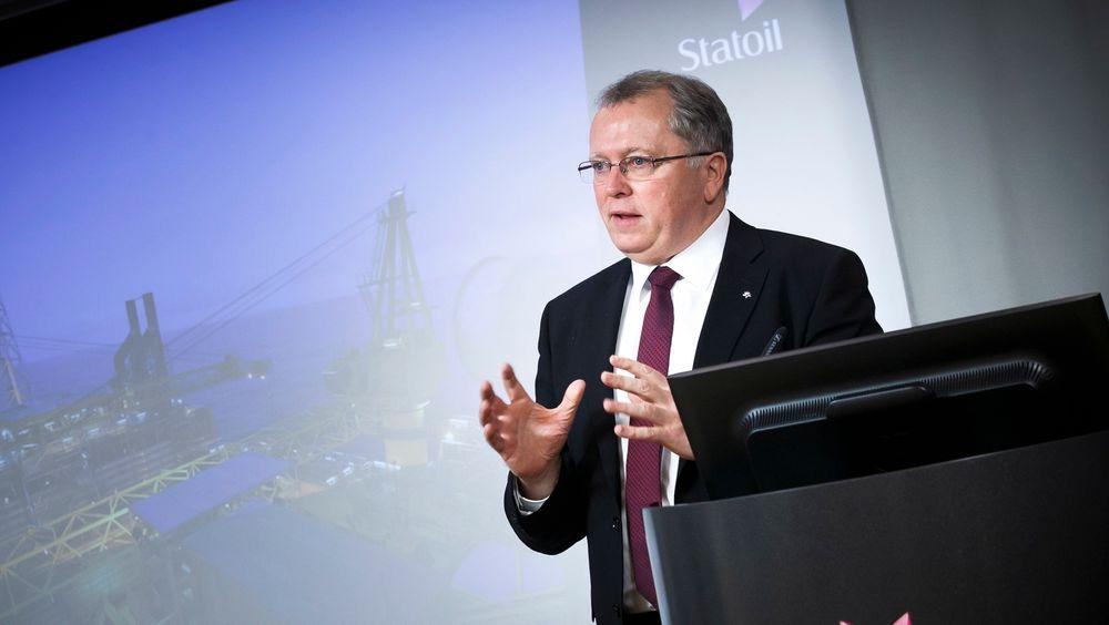 Statoil og konsernsjef Eldar Sætre varsler at nye 15 milliarder skal kuttes i år.