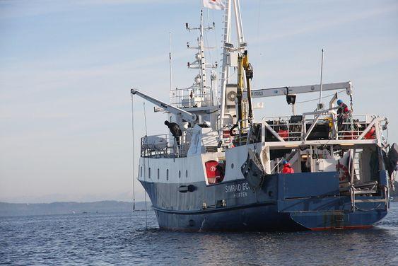Simrad Echo ser unnselig ut, men er spekket med ultramoderne utstyr som Kongsberg Maritime tester ut.