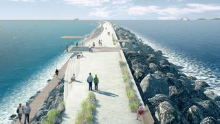 Ny kunstig lagune skal forsyne 155.000 hjem med strøm