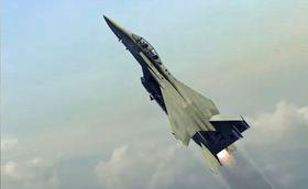 ALASA benytter F15E Strike Eagle kampfly til oppskyting av småsatellitter (skjermbilde fra DARPAs konseptvideo).