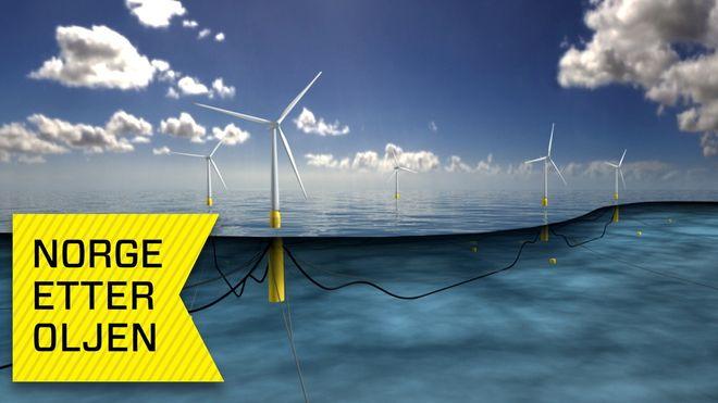Ingeniørlegenden bidro sterkt til Norges oljeeventyr. Nå brukes teknologien til flytende vindmøller