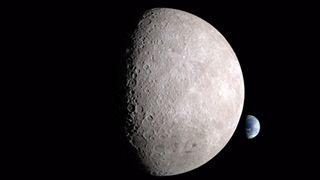 Fascinerende bilder viser jorden fra baksiden av månen