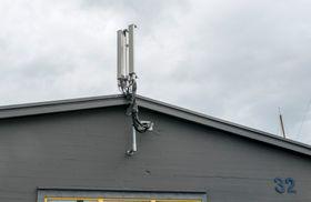 Belyser Aker Brygge: En liten antenneklynge skal gi alle som frekventerer Aker Brygge mye bedre kapasitet.