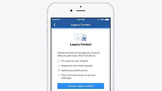 Facebook Legacy Contact, eller minnekontoforvalter som de kaller det på norsk, kan styre visse deler av Facebook-kontoen din når du dør. Er foreløpig ikke tilgjengelig i Norge.