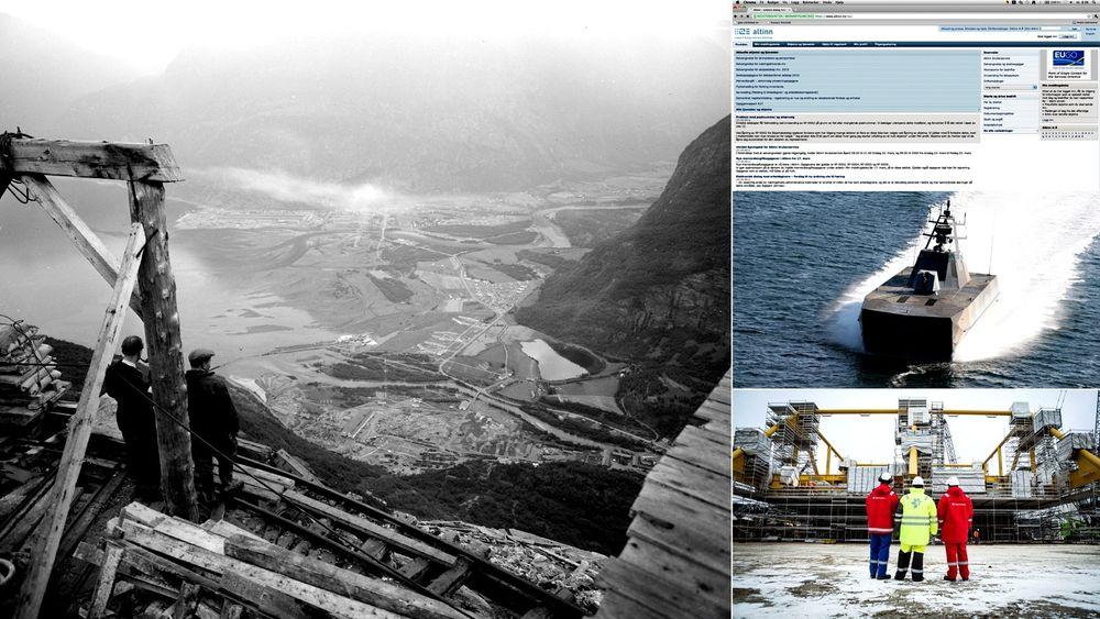TUs lesere har kommet med flere forslag til hva som er de største ingeniørbragdene siden frigjøringen i 1945. Både Aura-kraftverket, Åsgard gasskompresjon, Skjold-klassen og Altinn har blitt nevnt.
