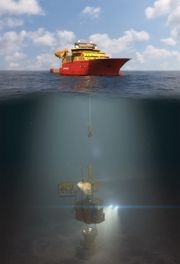 Bruk av skip istedenfor rigger, og minst mulig skip, er nøkkelen i Optime Subsea Services' planer.