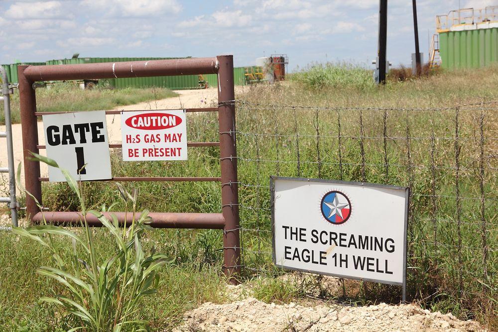 Statoil kjøper seg opp i Eagle Ford. Dette bildet er fra samme område, men har ikke noe med Statoil å gjøre.