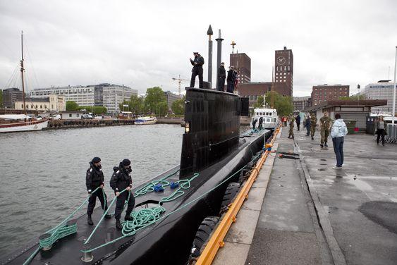 KNM Utvær besøkte Oslo i mai for to år siden.