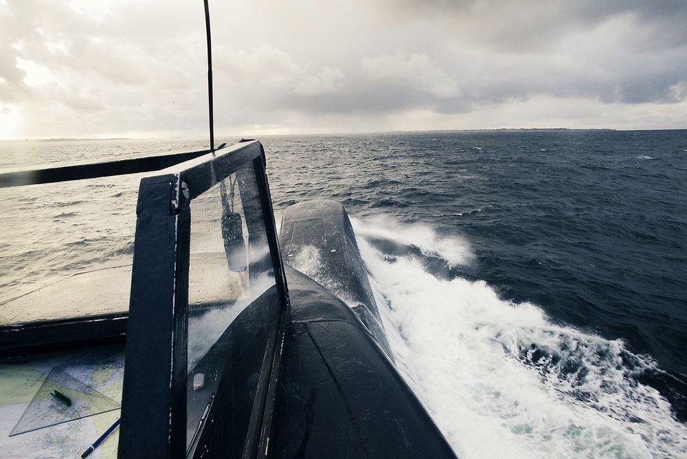 Ombord på KNM Uthaug