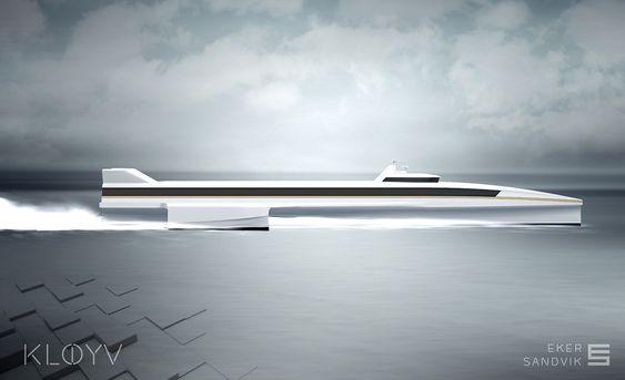 Langt og smalt gjør det mulig å holde høy fart uten altfor høyt drivstofforbruk.