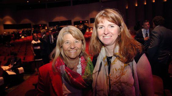 Damer med makt: Teknologidirektør Margareth Øvrum(t.v.) og STEP-direktør Jannicke Nilsson har begge sentrale roller for å spare kostnader i Statoil.