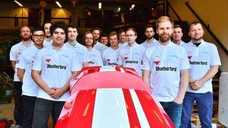 Denne racerbilen gir 20 nye ingeniører
