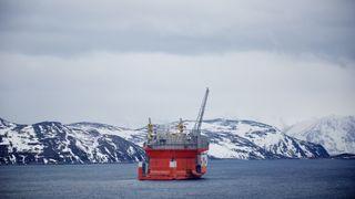 Nå er Goliat på vei ut i Barentshavet