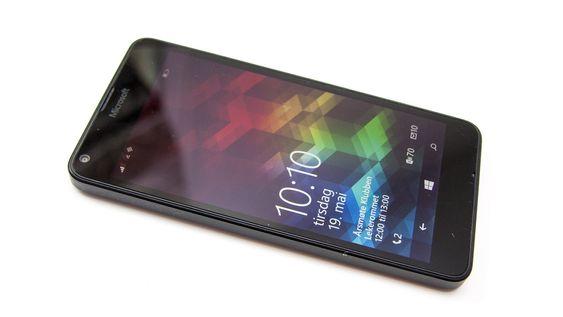 Microsoft Lumia 640 har HD-skjerm på fem tommer.