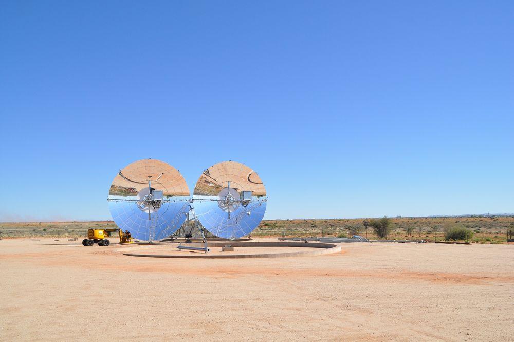 Svenske Ripasso Energy bruker stirlingmotor i sitt solkraftverk, og mener det er det mest energieffektive solkraftverket i drift.