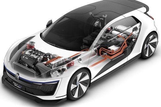 Konseptbilen VW Golf GTE Sport