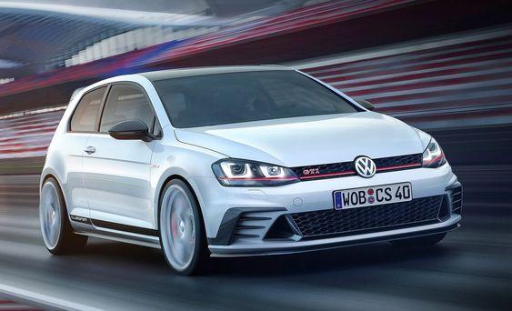 Volkswagen Golf GTI Clubsport er en tilnærmet produksjonsklar konseptbil. Det blir noe lignende som skal lages til 40-årsjubileet for GTI.
