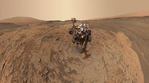 Nasa vil la alger lage oksygen på Mars