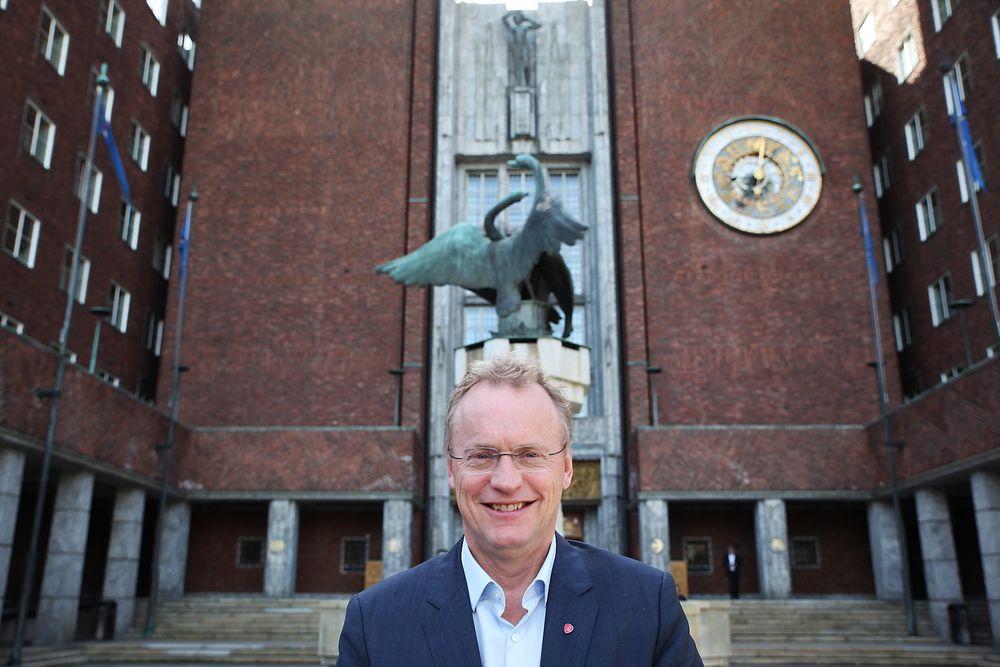 AP-veteranen Raymond Johansen vil bli byrådsleder i Oslo.