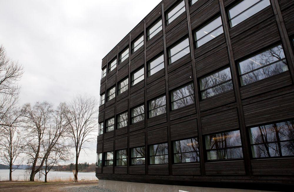 Sonja Horn i Entra forteller at tilbakemeldingene etter totalrenoveringen av Kjørbo utelukkende har vært positive.