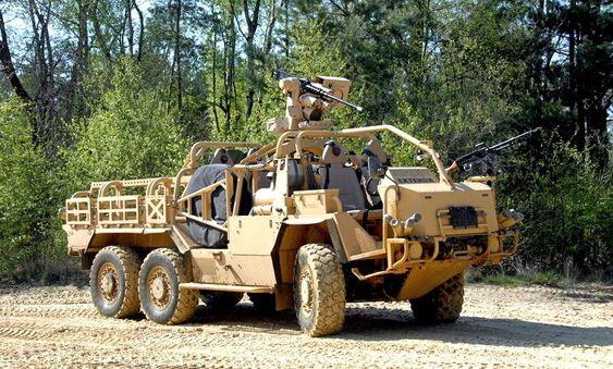 HMT Extenda med fjernstyrt våpenstasjon installert.