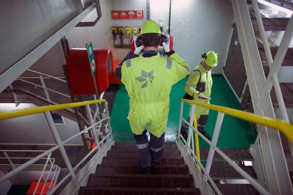 Usikkerhet: Nedgang i oljebransjen har gjort at mange ingeniører har mistet jobben. Her fra Åsgård A-plattformen.