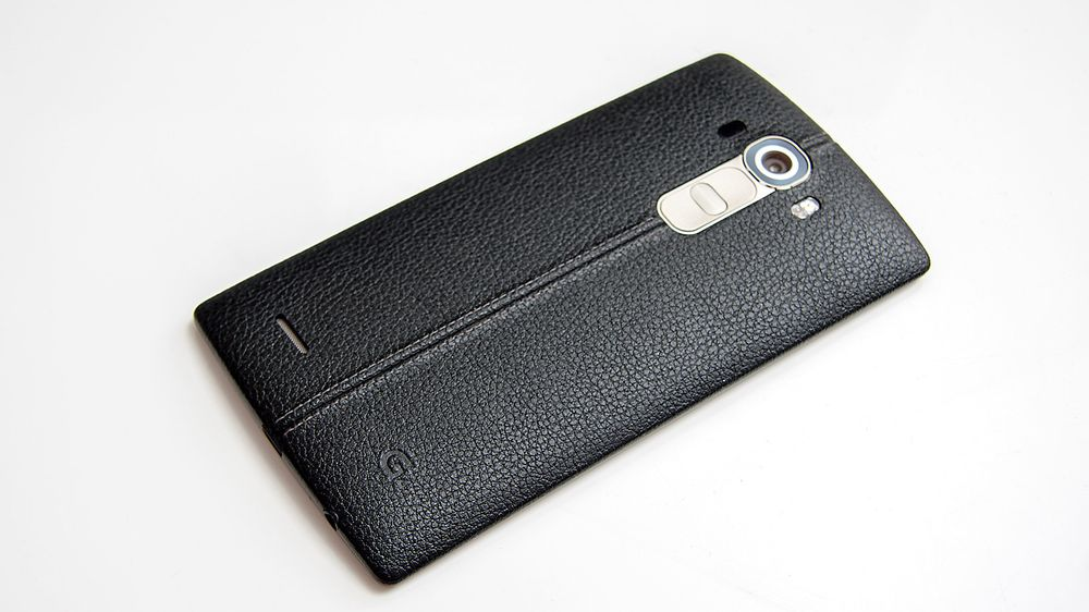 LG G4 kan ikke beskyldes for å se ordinær ut.