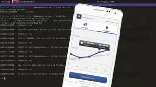 Hafslund-app med skjult lagring av tekstmeldinger