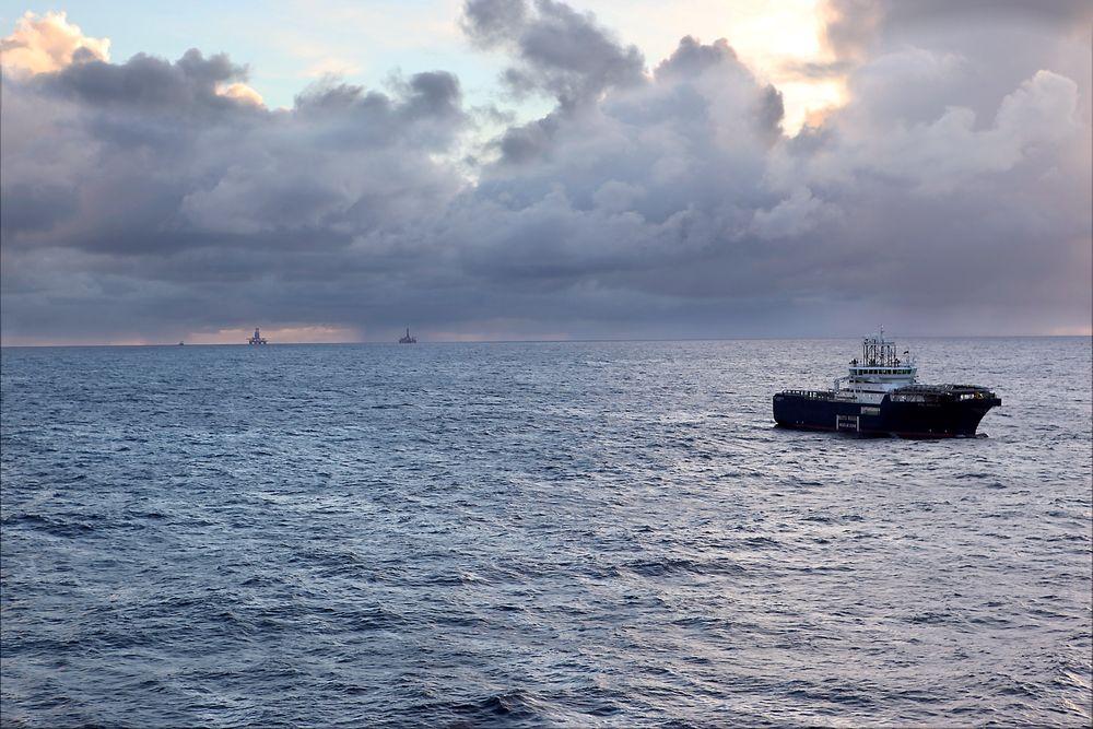 Her, i Nordsjøen, vil SINTEFs klimadirektør at det opprettes et felleseuropeisk CO2-lager.