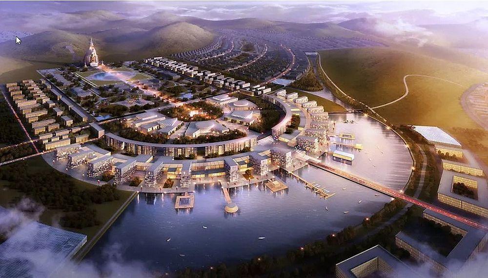 Slik mener tyske RSAA den nye hovedstaden til Mongolia bør utformes.