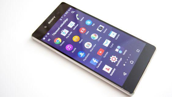 Sony har forhåndslastet en del apper, men mange av disse kan avinstalleres.