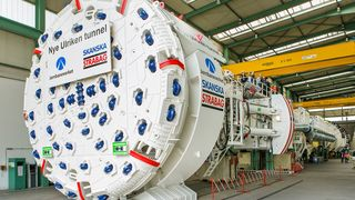 Denne tunnelboremaskinen skal bore seg gjennom hjertet av Bergen