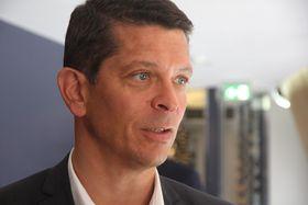 Geir Håøy, administrerende direktør Kongsberg Maritime.
