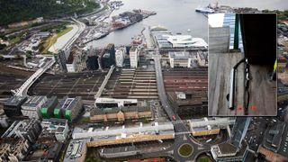 Krever millionerstatning etter omfattende skader på Oslo S