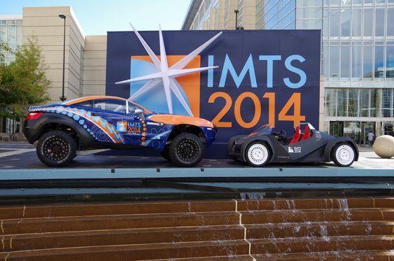 Den lille elbilen Strati ble vist fram på utstillingen International Manufactoring Show i Chicago i september 2014.