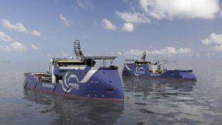 Ulstein verft feirer 100 skip med X-Bow