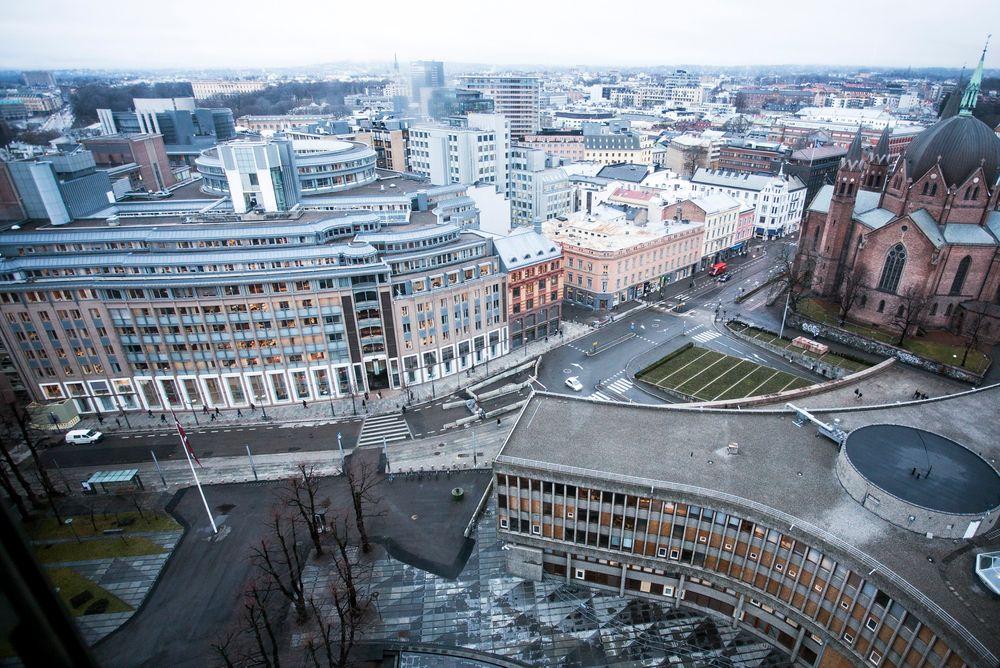 Bygger ut: Regjeringskvartalet i Oslo skal bygges om etter terroraksjonen 22. juli.