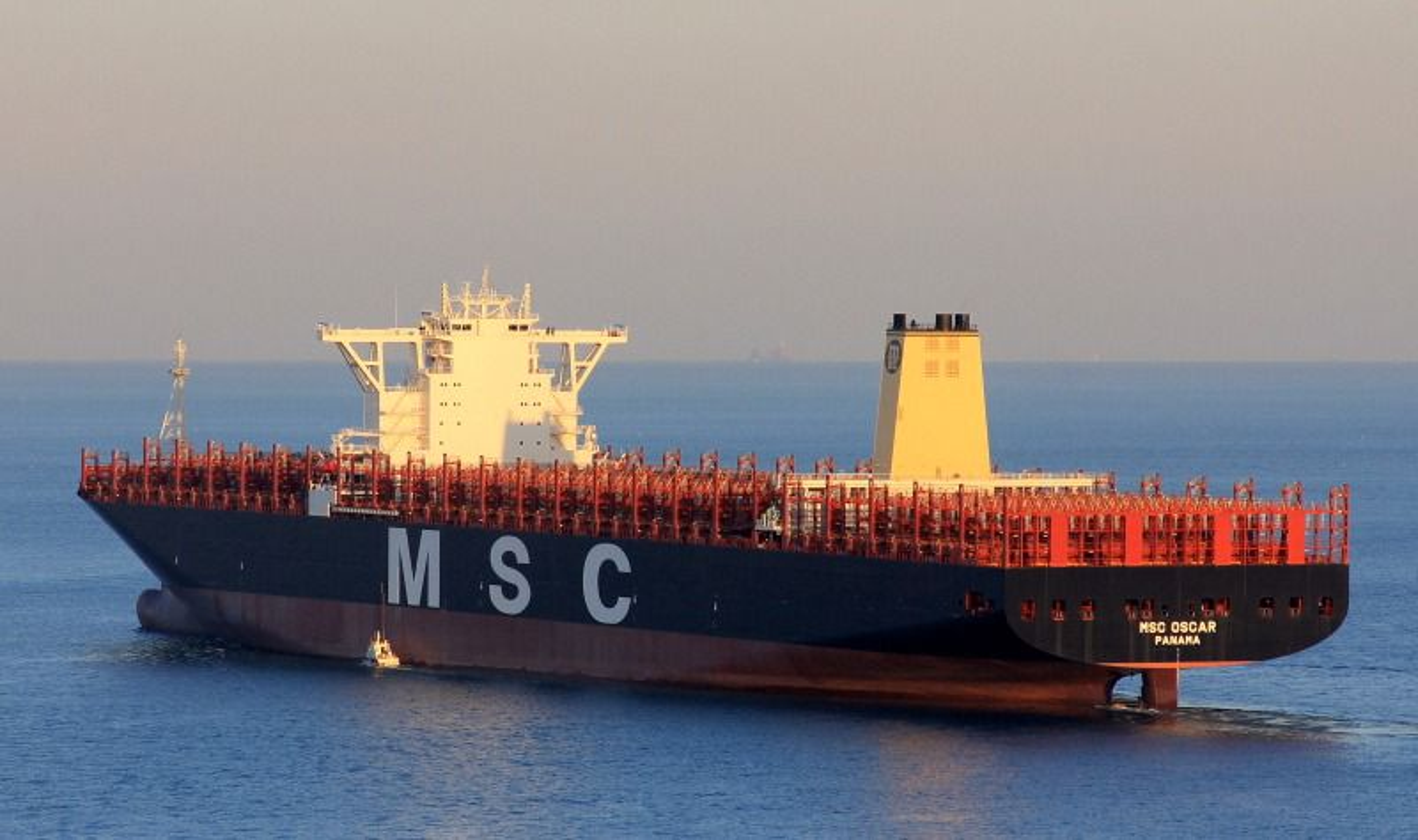 artikler dette er verdens storste containerskip